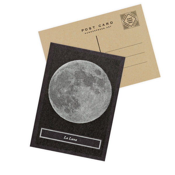 La Luna Postcard By Hammerpress - 1