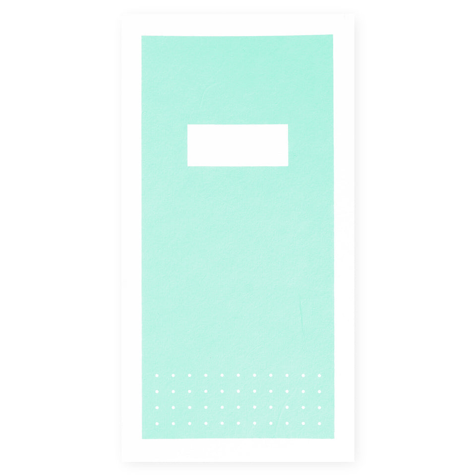 Hanaduri Hanaduri Hanji Dot Grid Notebook Cabinet | 6 Colors Mint