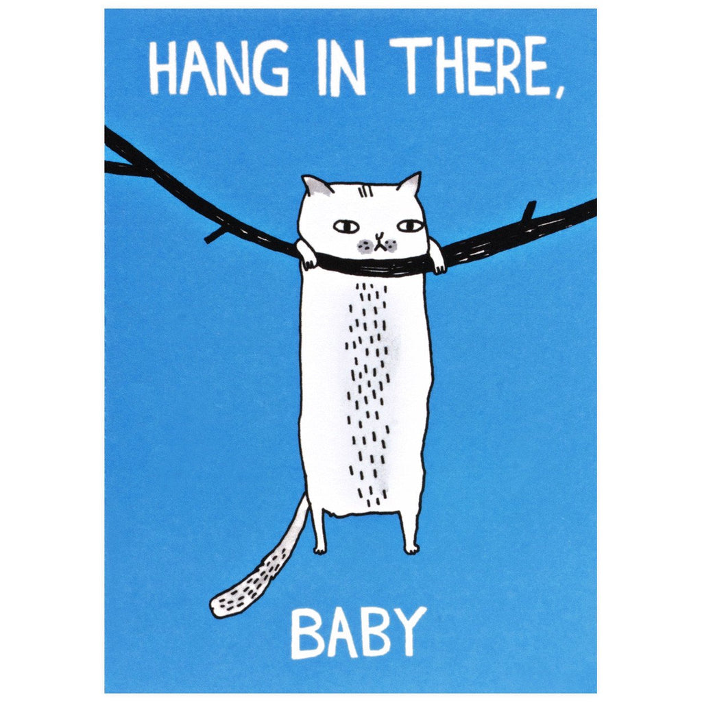 Hang In There, Baby - GREER Chicago Online Stationery
