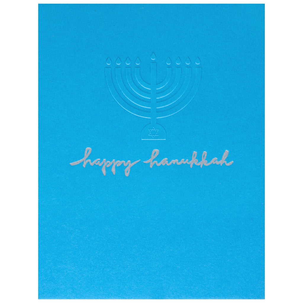 Embossed Happy Hanukkah By Egg Press