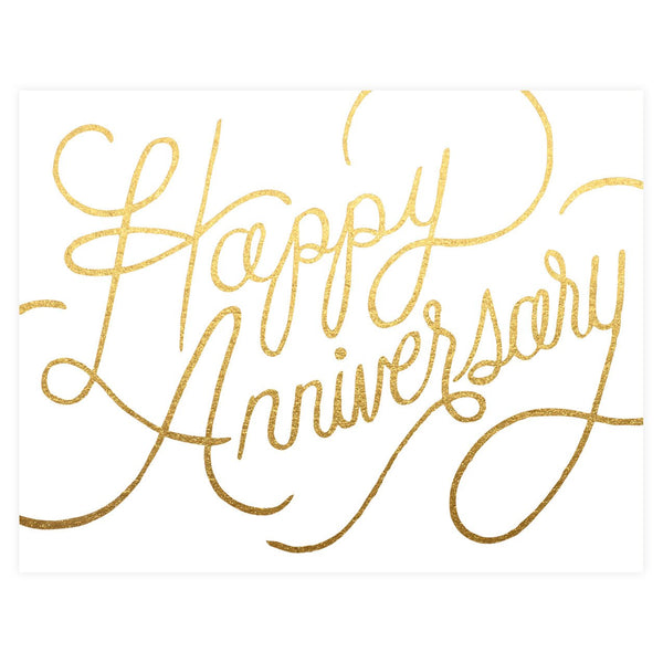 Happy Anniversary Card - GREER Chicago Online Stationery