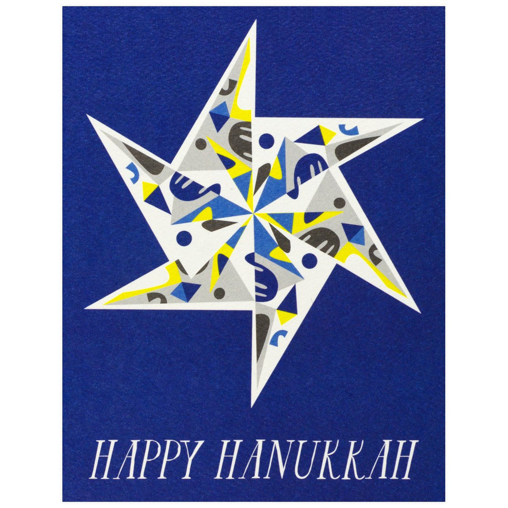 Happy Hanukkah Star By Banquet Workshop