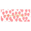 Hartland Brooklyn Neon Red Balloons Congratulations Card