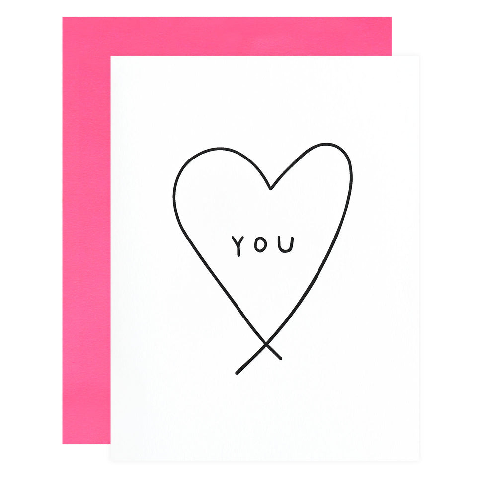 Ashkahn Heart You Greeting Card