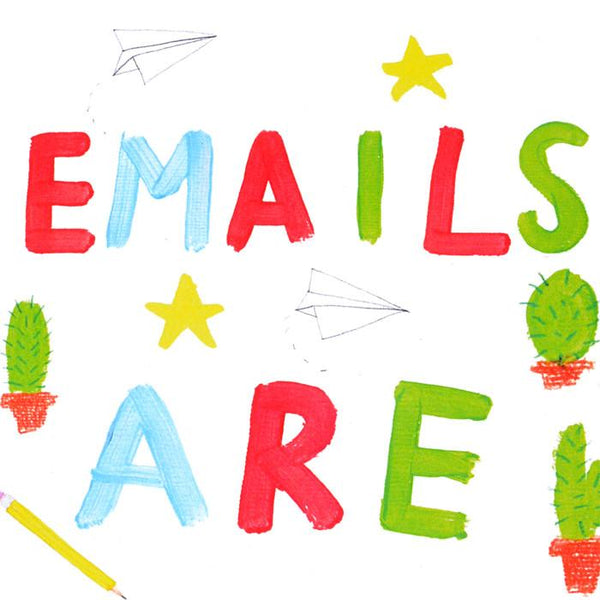 Emails Are Boring Greeting Card By Heather More - 1