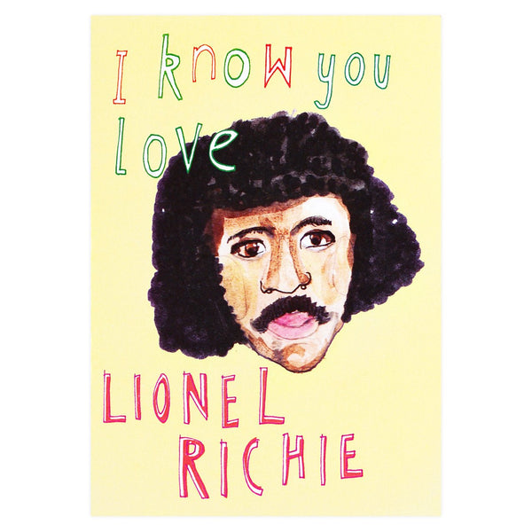 Lionel Richie Guilty Pleasures Greeting Card By Heather More