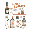 Hello Lucky Drink To Forget Birthday Card - GREER Chicago Online Stationery Shop