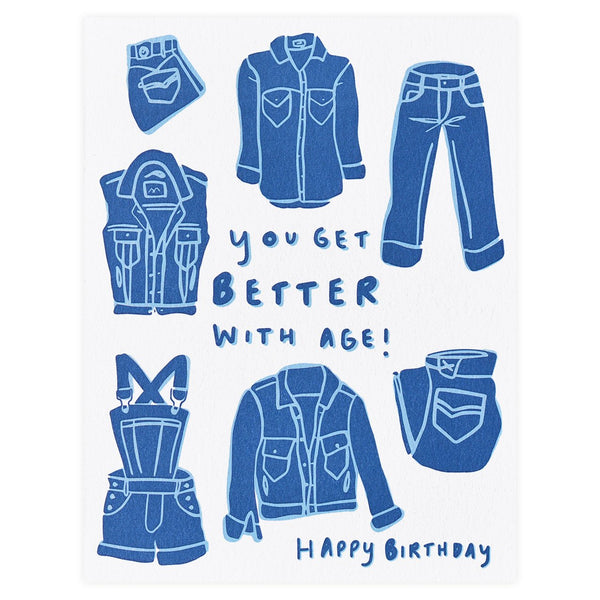Good Genes Birthday Card
