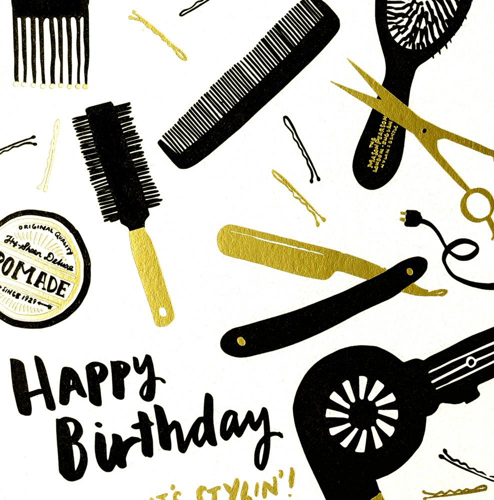 Stylin' Birthday Card By Hello Lucky - 2