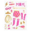 Hello Lucky Super Mom Mother's Day Card - GREER Chicago Online Stationery Shop