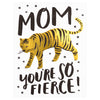 Hello Lucky Tiger Mom Mother's Day Card