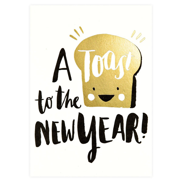 Hello Lucky Toasty New Year Boxed Cards - GREER Chicago Online Stationery Shop