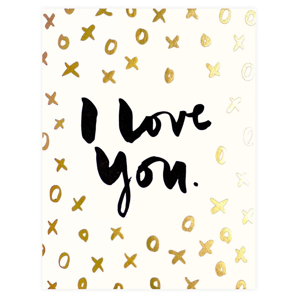 XOXO Greeting Card By Hello Lucky