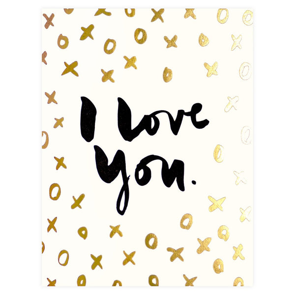 XOXO Greeting Card - GREER Chicago Online Stationery