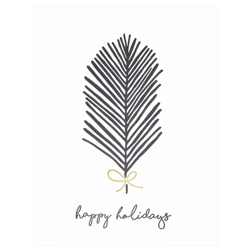 Hello Paper Co. Holiday Fern Greeting Card