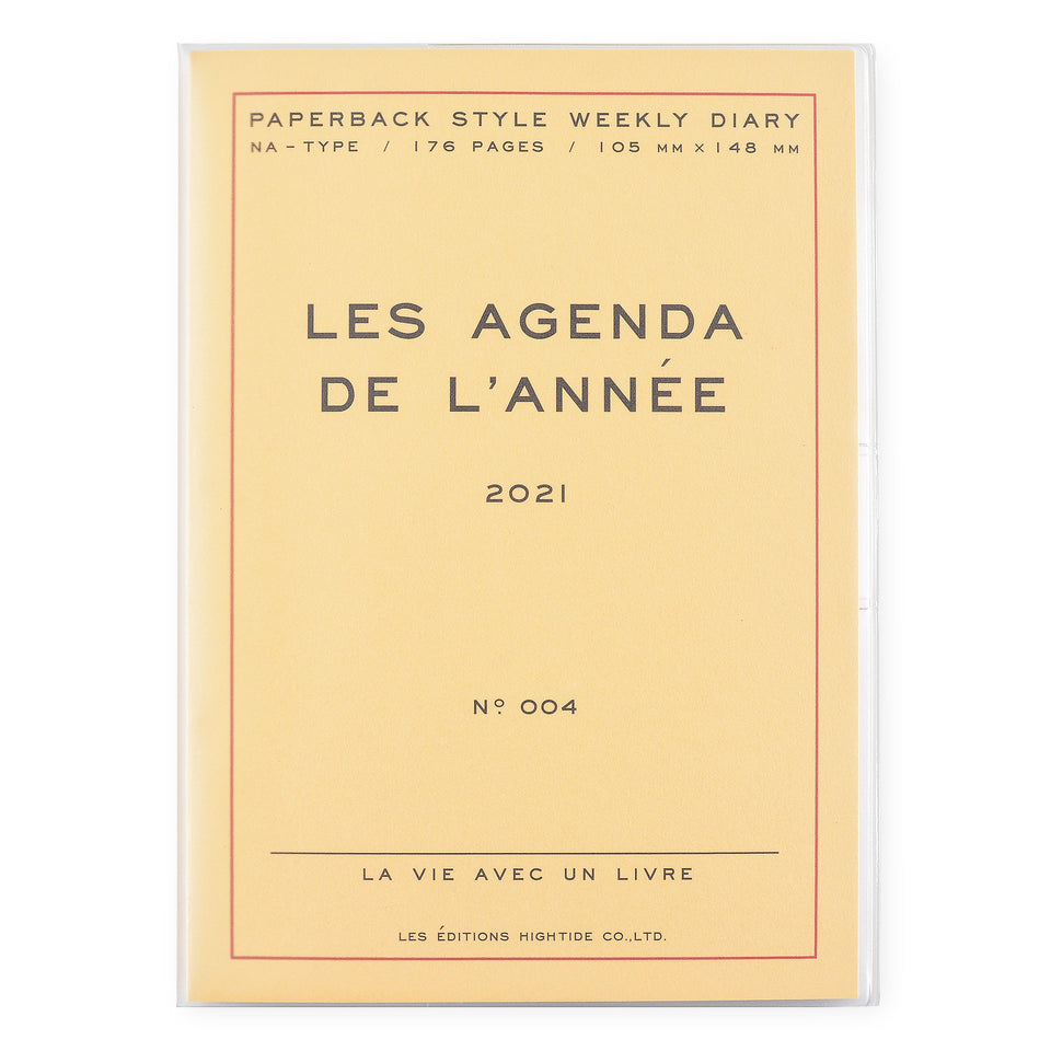 Hightide Hightide 2021 Les Agenda de L'Année' Diary | 4 Colors Cream