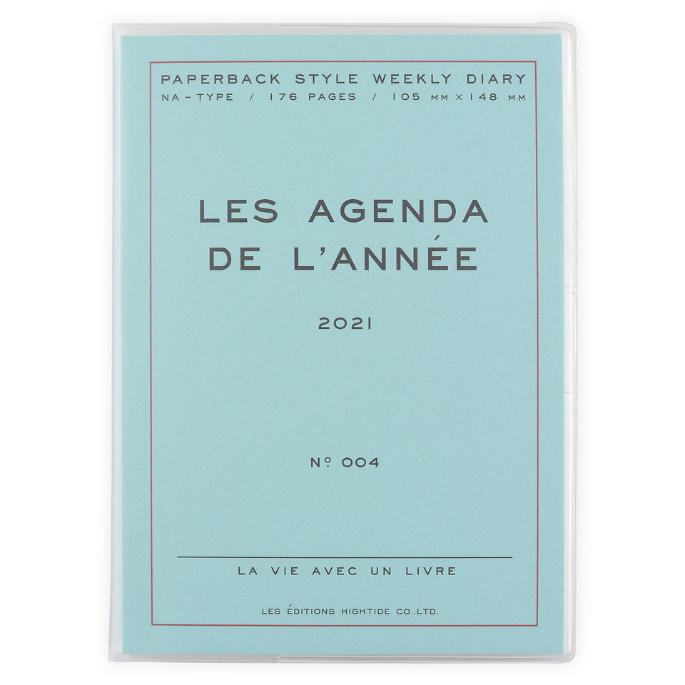 Hightide Hightide 2021 Les Agenda de L'Année' Diary | 4 Colors Mint