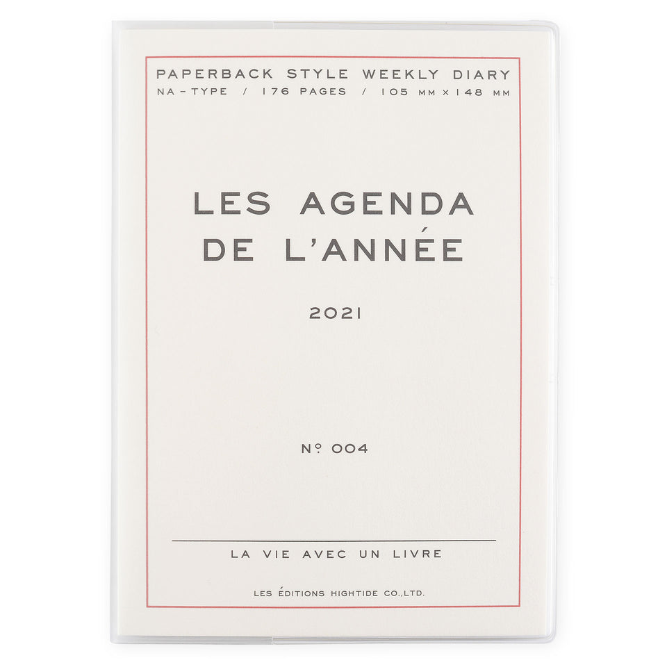 Hightide Hightide 2021 Les Agenda de L'Année' Diary | 4 Colors White