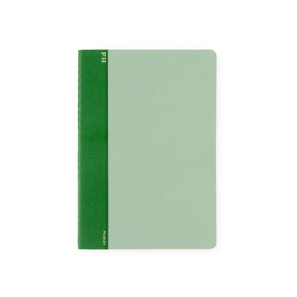 Hightide PH Cheesecloth Notebook Green | B6 or B5 B6