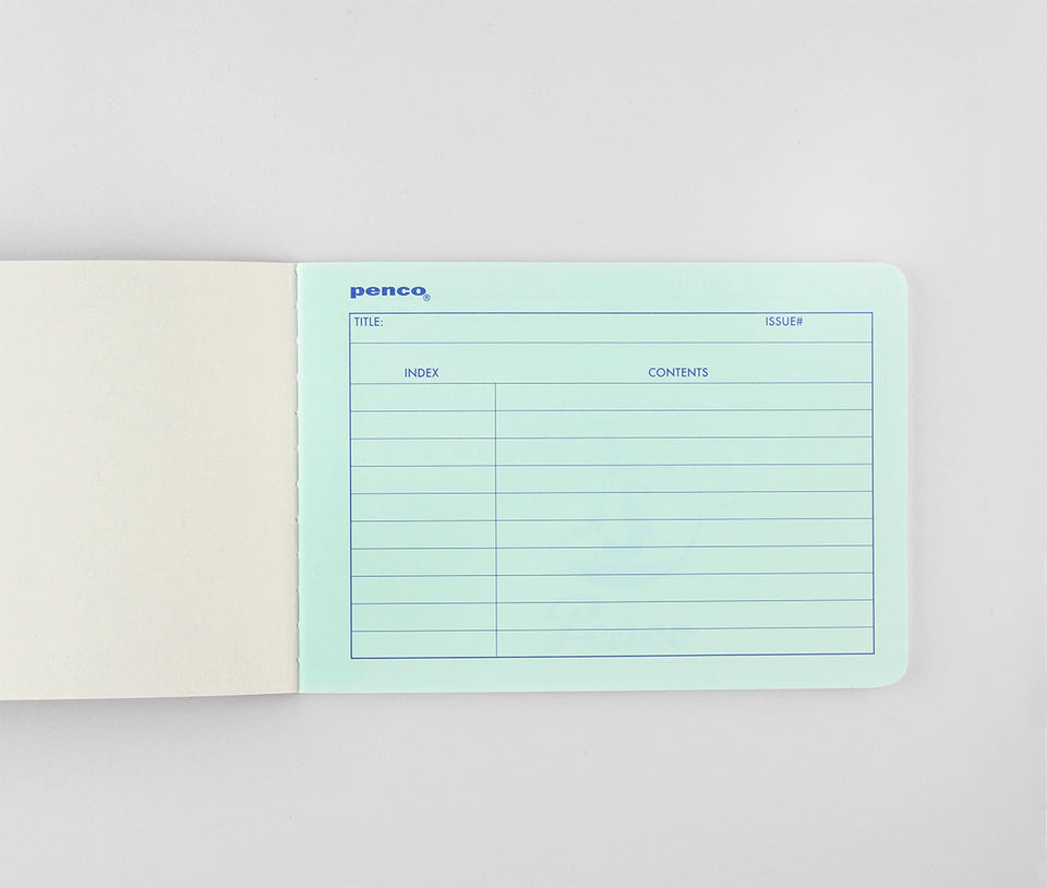 Hightide Penco Foolscap Notebook B6 | In four colors