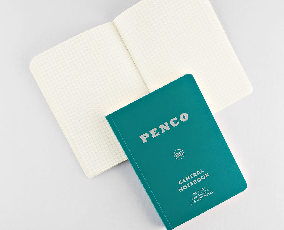 Hightide Hightide Penco Soft PP Notebook B6 | 5 Colors