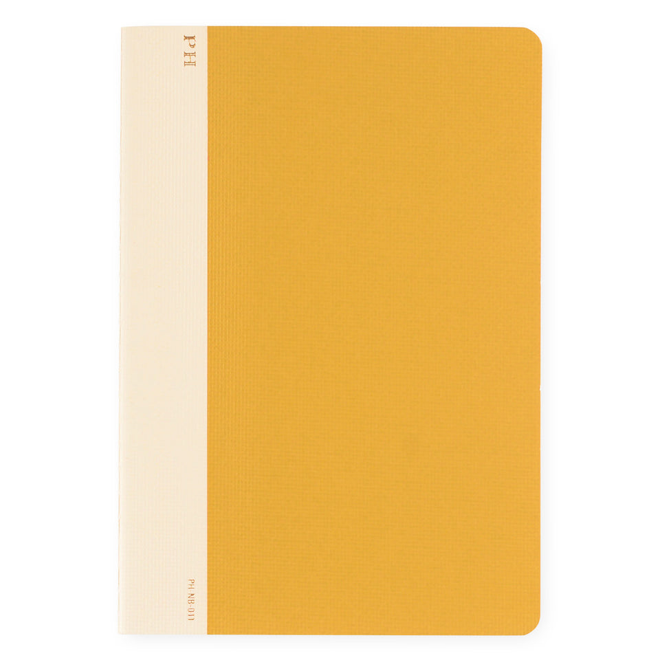 Hightide PH Cheesecloth Notebook Yellow | B6 or B5 B5