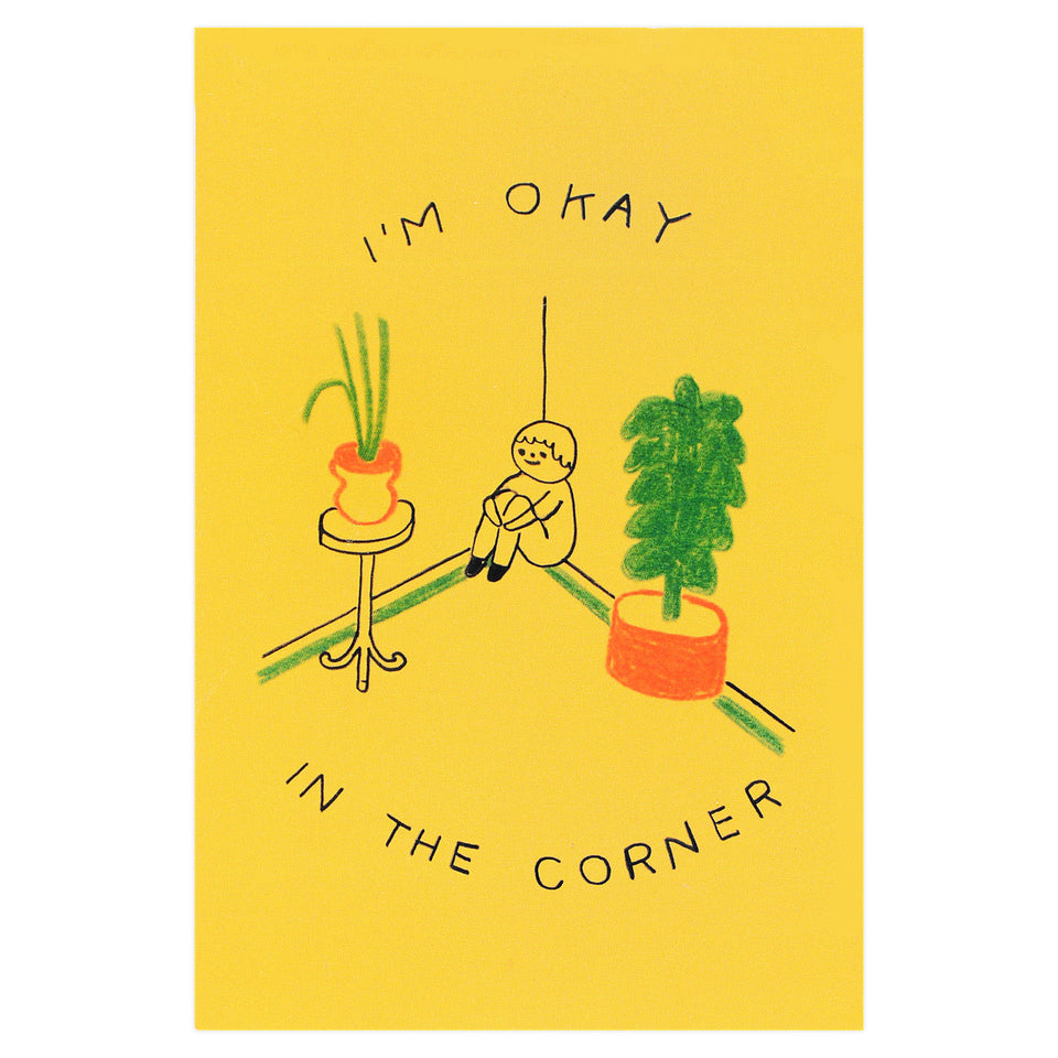 Hiller Goodspeed Okay In The Corner Postcard