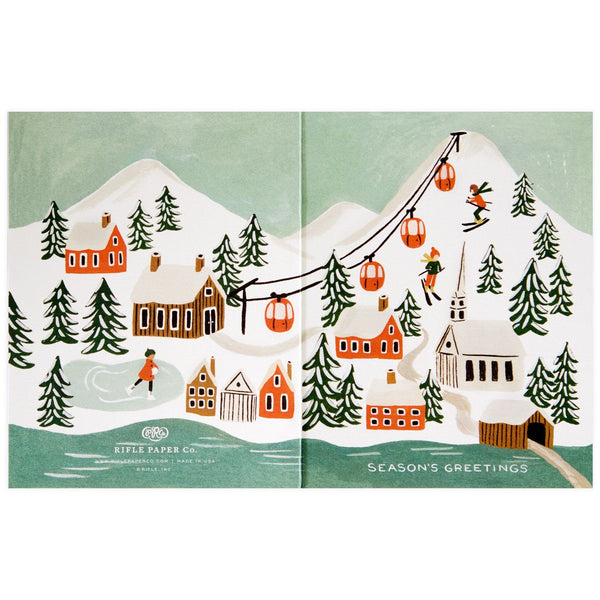 Holiday Snow Scene By Rifle Paper Co. - 1