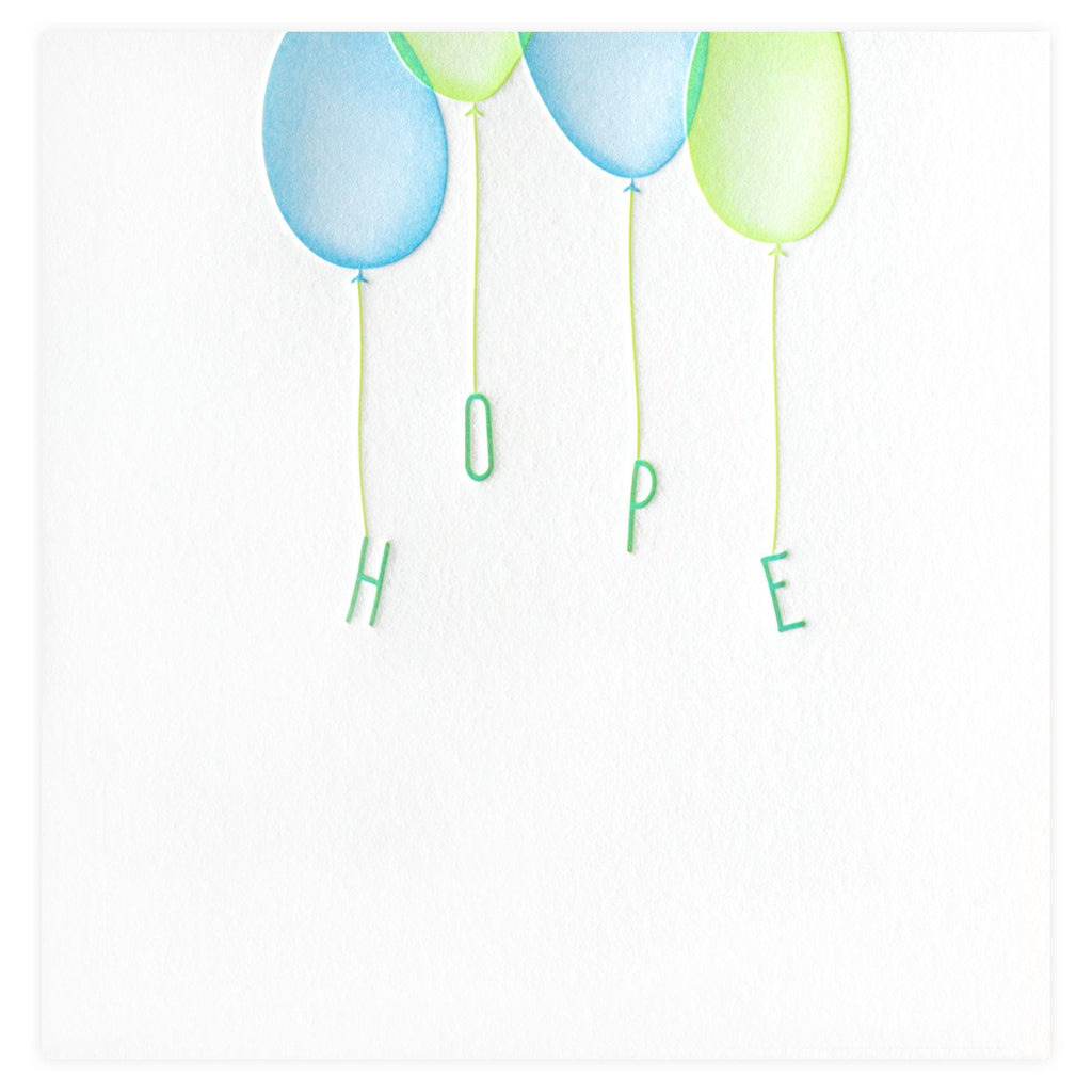 Hope Floats Card - GREER Chicago Online Stationery