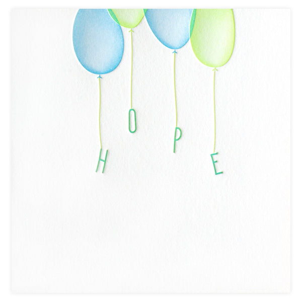 Elum Hope Floats Card - GREER Chicago Online Stationery Shop