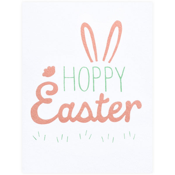 Hoppy Easter Card - GREER Chicago Online Stationery