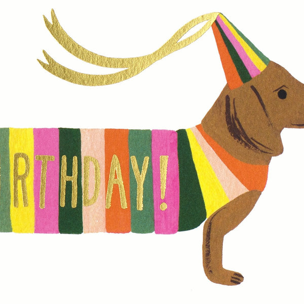 Hot Dog Birthday Card - GREER Chicago Online Stationery