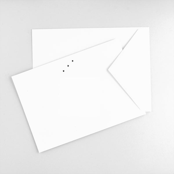 Howl Paper Studio Orion Flat Note Cards Boxed - GREER Chicago Online Stationery Shop
