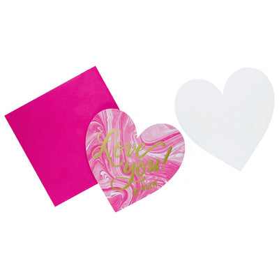 The Social Type Love You! So Much Heart Card
