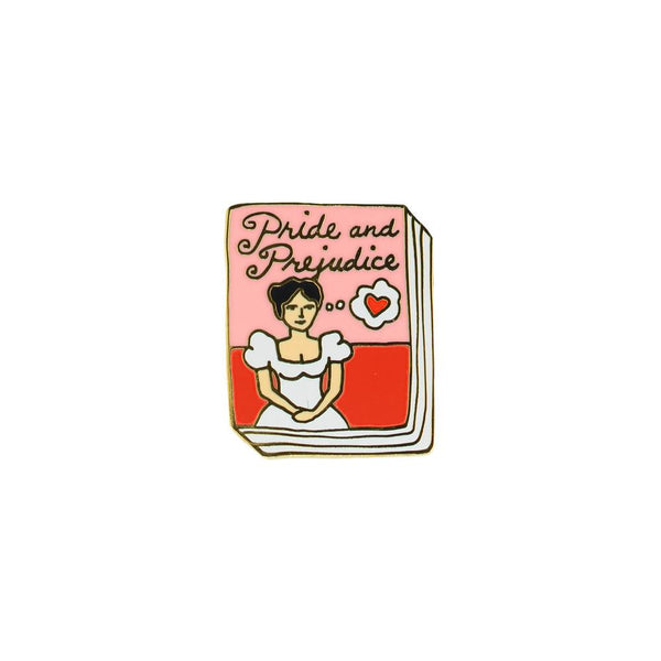 Pride And Prejudice Enamel Pin By Ideal Bookshelf