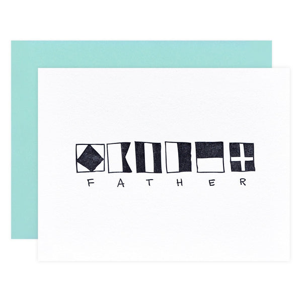 Nautical Father Father's Day Card