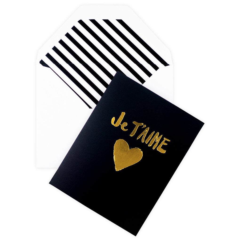 Je T'aime Card By Sugar Paper LA - 1