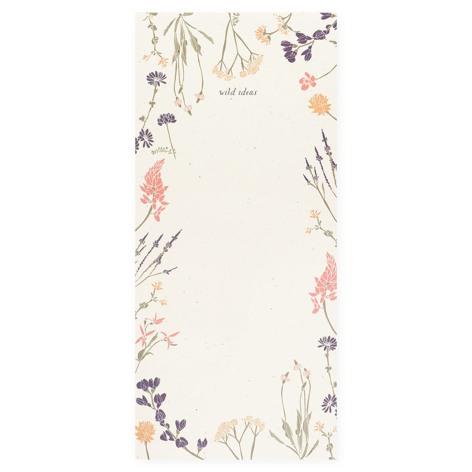 June & December Wild Ideas Notepad