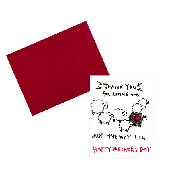 Just The Way I Am Mother's Day Card - GREER Chicago Online Stationery