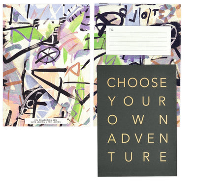 Katie Leamon Choose Your Own Adventure Greeting Card - GREER Chicago Online Stationery Shop