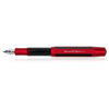 Kaweco AC Sport Fountain  Pen Carbon Medium Nib Red - GREER Chicago Online Stationery Shop
