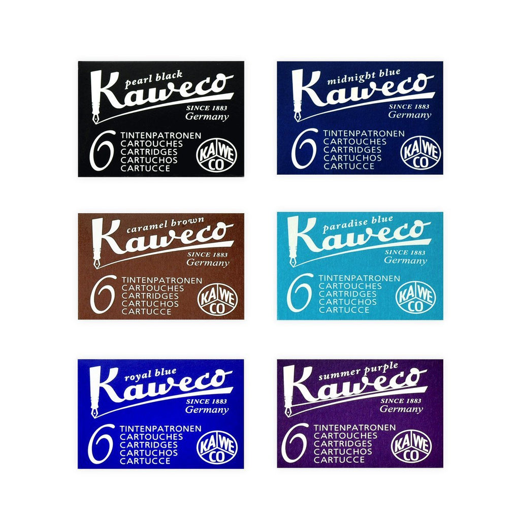 Fountain Pen Ink Cartridges in Various Colors By Kaweco - 1