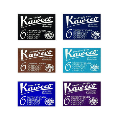 Kaweco Fountain Pen Ink Cartridges in Various Colors - GREER Chicago Online Stationery Shop