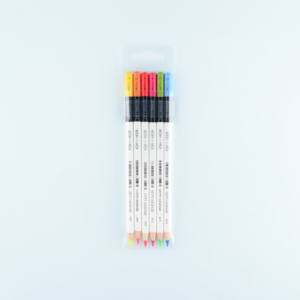 Koh-I-Noor Koh-I-Noor Highlighter Pencils Set of 6
