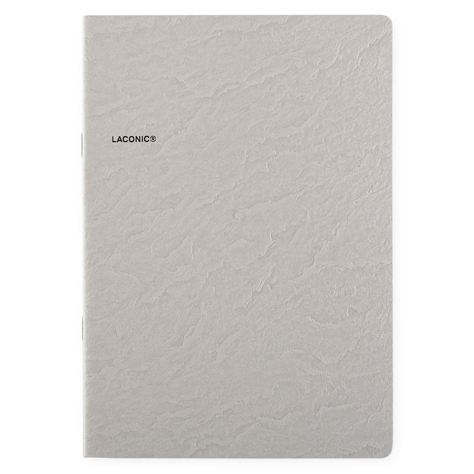 Laconic Laconic Cliff Notebook Grey | Small or Large