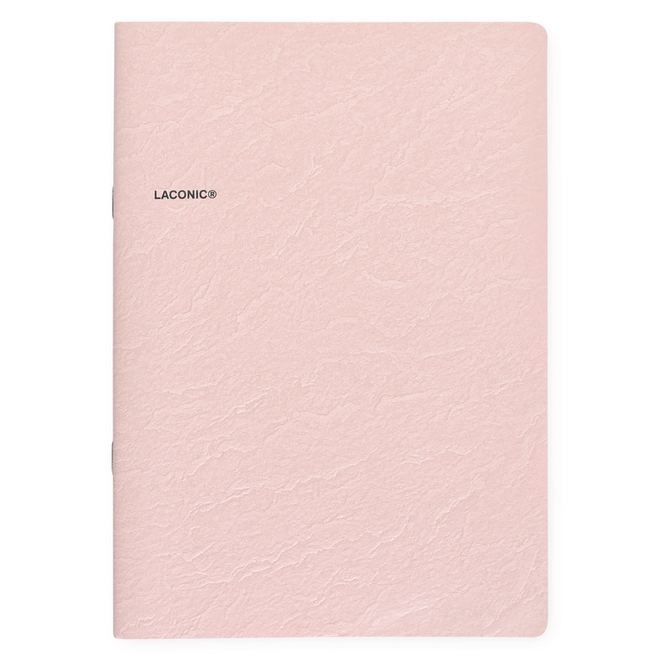 Laconic Laconic Cliff Notebook Pink | Small or Large