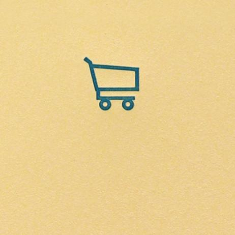 Mini Bloc Jotter Notepad Shopping Cart