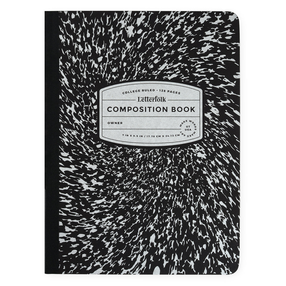 Letterfolk Classic Composition Book