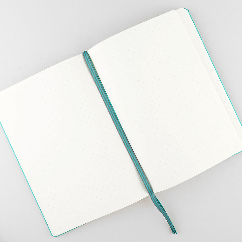 Leuchtturm 1917 Leuchtturm Notebook Emerald A5 | Ruled or Dot Grid