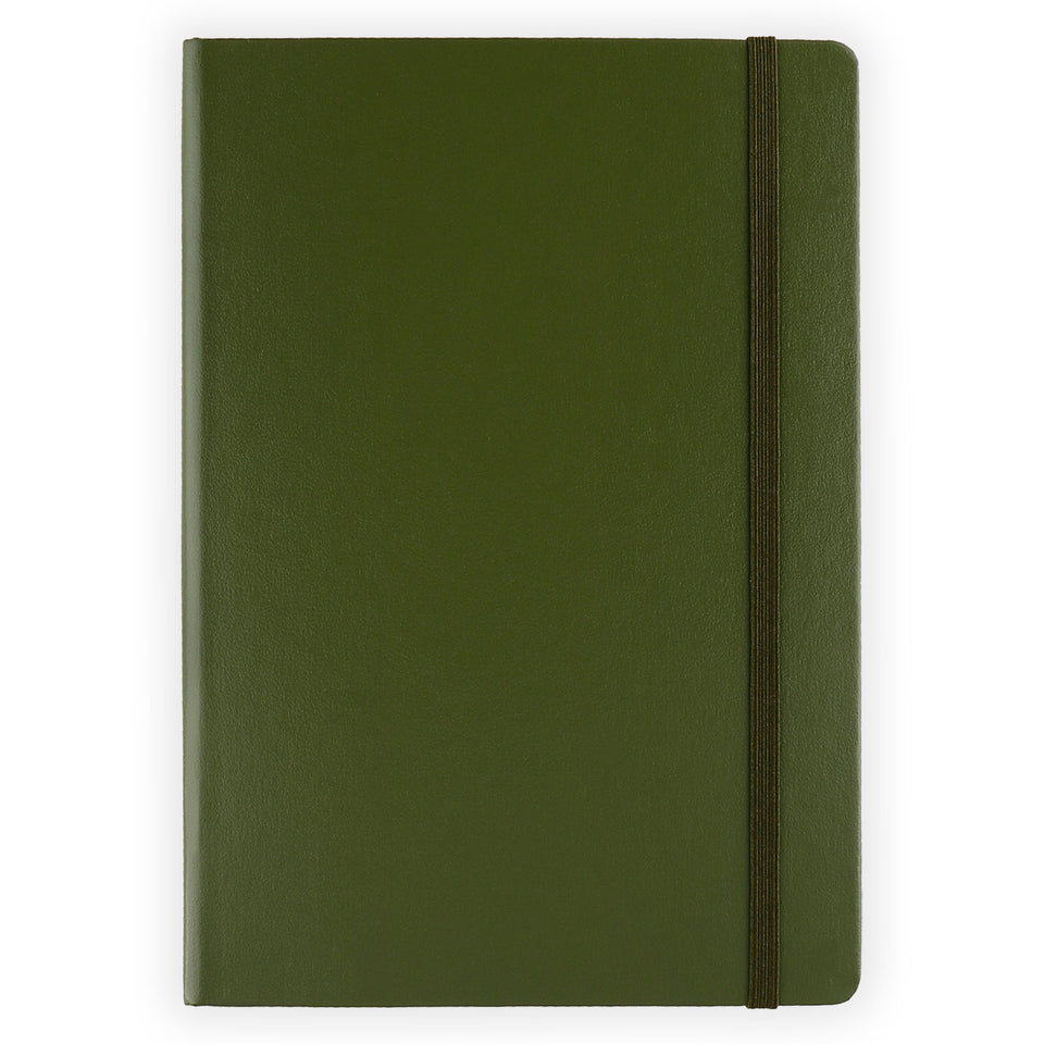 Leuchtturm 1917 Leuchtturm Notebook Army A5 | Ruled or Dot Grid